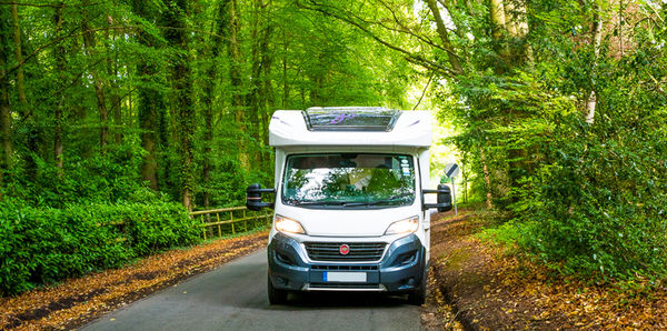 DriveAway Motorhome travelling through the UK